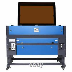 Preenex 28x20inch 60W CO2 laser Engraving Engraver Cutter with Rotary Axis 3 Jaw