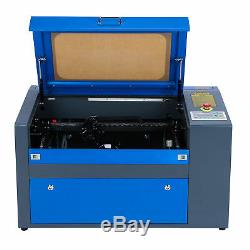 Preenex 50W CO2 Laser Engraving Machine Engraver Cutter Auxiliary Rotary 2012