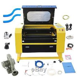 Premium 60W CO2 Laser Engraver Cutting Machine with USB Interface Crafting New