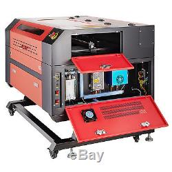 Pro 60W CO2 Laser Engraver Cutting and Engraving Machine USB Port & Exhaust Fan