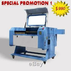 Promotion! 50W CO2 LASER ENGRAVING & CUTTING MACHINE 700mm 500mm USB PORT