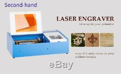 Second-hand 40W USB Laser Engraving & Cutting Machine Engraver With Cooling Fan