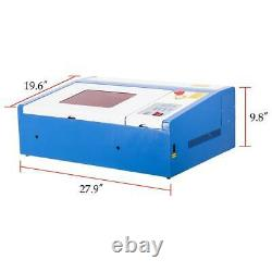 Secondhand 40W CO2 USB Laser Engraving Cutting Machine Engraver 30x20cm/12x8