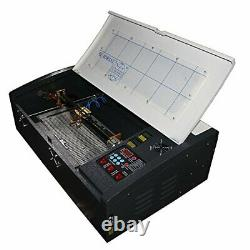 TEN-HIGH 3020 12x 8 40W 110V CO2 Crafts Laser Engraving machine with USB port