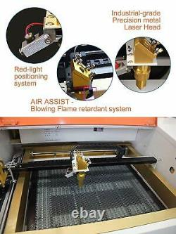 TEN-HIGH CO2 60W 110/220V Laser Engraving Cutting Machine with USB port