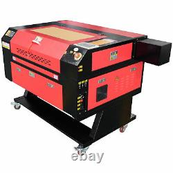 US Stock 700mm x 500mm 80W CO2 Laser Engraver Cutter Laser Engraving Machine USB