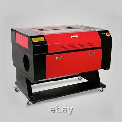 US Stock 700mm x 500mm 80W CO2 Laser Engraver Laser Cutter Engraving Machine USB