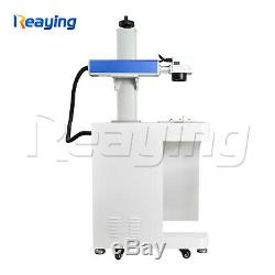 USB 30W Raycus Fiber Laser Metal Marking Engrave Machine 300300mm with PC
