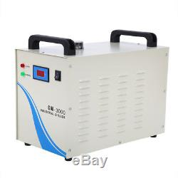 USB 80W CO2 Laser Engraver Cutter Machine 700X500mm with Rotary Axis Water Chiller