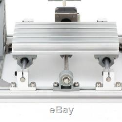 USB CNC 1610 3Axis PCB Milling Wood Router Laser Engraving Machine GRBL Control
