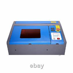 Upgraded 40W CO2 Laser Engraver Cutting Machine 12x 8 Cutter USB Red Dot K40