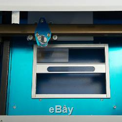 Upgraded 40W CO2 Laser Engraver Cutting Machine Crafts Cutter USB Interface 110V