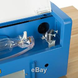 Upgraded 40W CO2 Laser Engraver Cutting Machine Crafts Cutter USB Interface omt