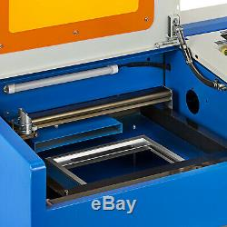 Upgraded 40W USB CO2 Laser Engraver Engraving Cutting Machine Cutter 300x200mm