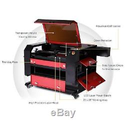 Upgraded C02 Laser Engraver Cutter 80W 28x20 Cutting Engraving Marking Machine